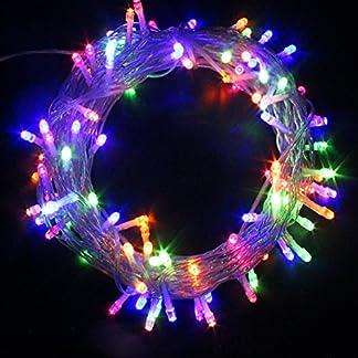 50100200300400500-LED-Batterie-betrieben-Schnur-Lichterkette-Weihnachten-Xmas-Party
