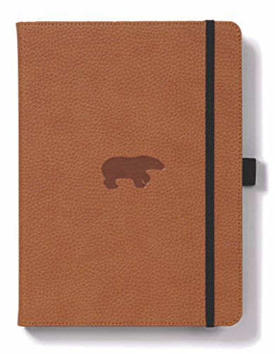 Dingbats* Wildlife A5+ Brown Bear Notebook - Plain