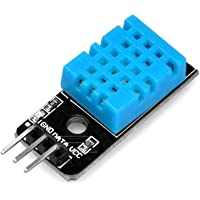 Robocraze DHT11 Module Temperature and Humidity sensor Module for boards compatible with Arduino, ARM and other MCU…