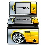 Autos 10038, Sport Car, Design folie Sticker Skin Aufkleber Schutzfolie mit Farbenfrohe Design für Nintendo DSi XL Designfolie