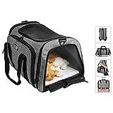 Bolso para Mascotas, Mochila de Viaje del Perro Gato, Transportín Animales, Los El Conejo Que Llevan el Caso, Transport Pet Carrier Backpack Bag Handbag, 40 ×21 ×25,5 cm