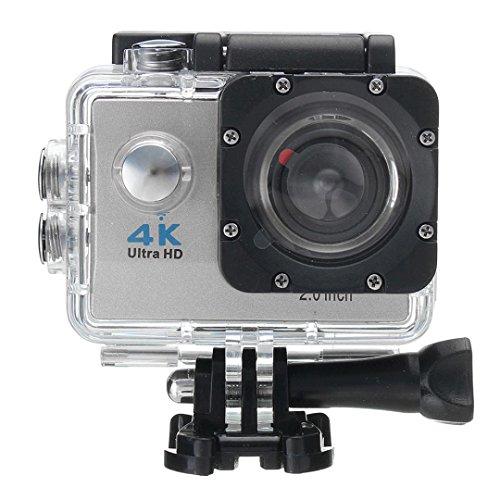 "OverDose Wifi Wasserdichte 4K 2.0 ""LCD SJ9000 HD 1080P Ultra Sports Action Kamera DVR Cam Camcorder DV (Silver)"