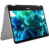 ASUS VivoBook Flip TP401CA-BZ032T 14-Inch 360 Degree Touchscreen Laptop (Grey) - (Intel Core M3-7Y30, 8 GB RAM, 128 GB SSD, Windows 10)