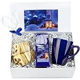 Geschenk Set Gemütliche Winterstunde mit Winter-Früchtetee, Becher und Gebäck