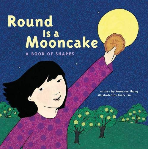 Round is a Mooncake: A Book of Shapes (Größe 9 Thong)