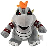 super mario bros bowser koopa dry bone grey 10 plush doll toy RARE! by Super Mario Brothers