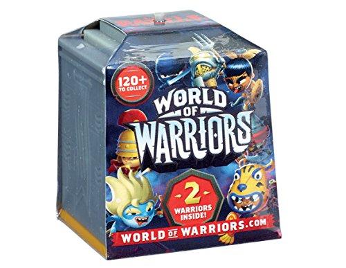 WORLD WARRIORS 2 FIGURINES - MODELE ALEATOIRE - Livréà l'unité.