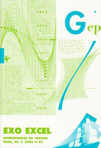EXO EXCEL initiation au logiciel Excel V.2000 et 97 : Enoncé par GEP
