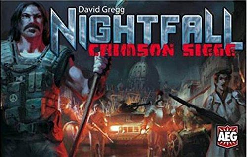 nightfall Crimson Belagerung Kartenspiel