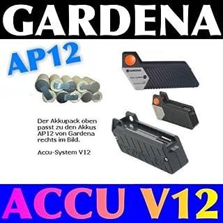 Akkuactive Akkupack zum Selbsteinbau für Gardena V12 Ni-MH 12V 3600 mAh