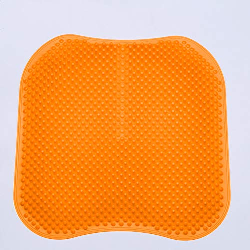 Micaza 3D-Massage Gel Seat Kissen Pad, Atmungsaktive Ergonomisch Zurück & Ischias Schmerzen Linderung Sitzkissen Für Bürovorsitzender Car Seat Cushions-g 17 * 17 Inches