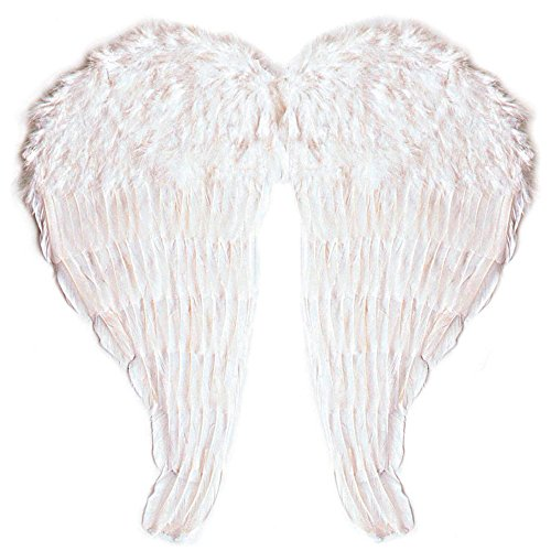 l aus modellierbaren Federn, weiß (Angel Halloween-kostüm Ideen)