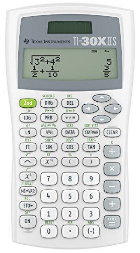 Texas Instruments TI 30 XIISWHITE 2 - Leitung Wissenschaftlicher Taschenrechner Texas Instruments Produkte
