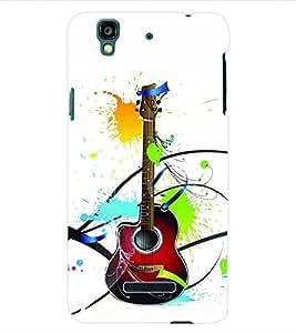 ColourCraft Guitar Back Case Cover for YU YUREKA AO5510