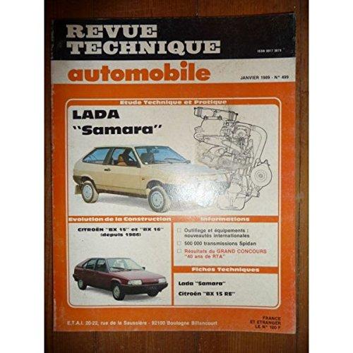 RTA0499 - REVUE TECHNIQUE AUTOMOBILE LADA SAMARA