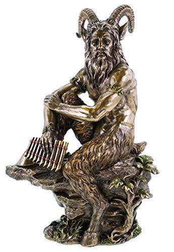 Veronese 708-6818 Griechischer Hirtengott Pan bronziert Skulptur Statue Figur Zeus