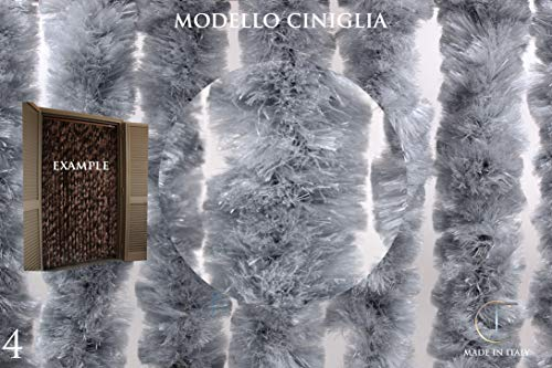 CHENILLE - Türvorhänge Modell CINIGLIA - Eichmaß 80X200 / 90X200 / 95X200 / 100X220 / 120X230 /...