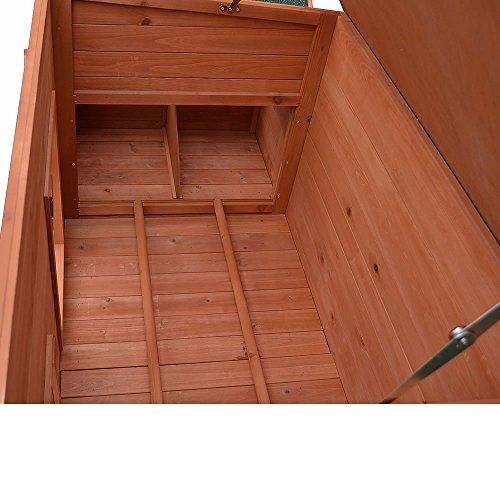 Hühnerstall / Hühnerhaus inkl. 2 Nestboxen ca. 179 x 80 x 75 - 4
