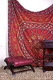 Aakriti Gallery Double Big Flower Mandala Bohemian Hippie Hanging Pattern Indian...