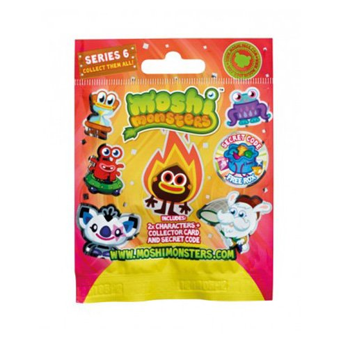 Moshi Monsters 2er Moshling Foil Pack ung- Serie 6 [UK Import]