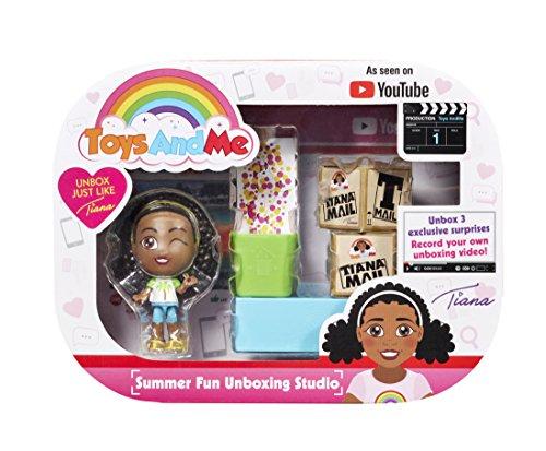 Spielzeug-Me 12214Tiana unboxing Studio–Summer Fun, Mehrfarbig