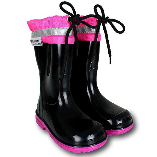 Gummistiefel Kinder - Stiefel - Schuhe mit Farb- und Größenauswahl Pink