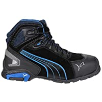 Puma Safety Rio Mid Mens Safety Boots (43 EUR) (Black)