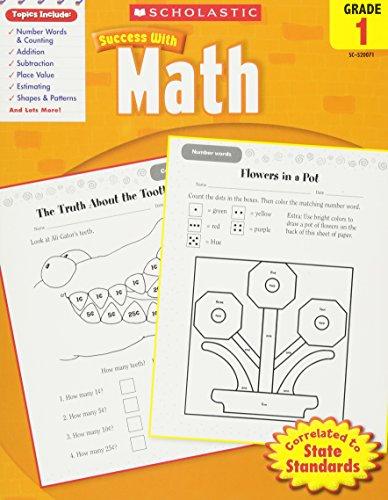 Math, Grade 1 (Scholastic Success with Workbooks: Math)