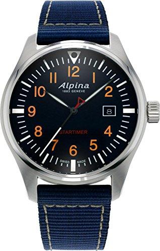 Alpina Geneve Startimer Pilot AL-240N4S6 Orologio da polso uomo Ottima leggibilità