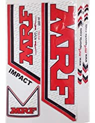 5 X Mrf Batte de cricket fabriqué sur mesure Lot d'autocollants