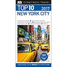 DK Eyewitness Top 10 Travel Guide New York City by DK (2016-10-03)