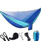 Die besten Ultralight Schlafsäcke - Doppel-Hängematte mit Moskito-Netz, Leichtgewicht Camping UnderDecke, Ultralight Portable Bewertungen