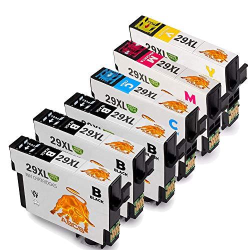 Abcs Printing Reemplazo Epson 29 XL Cartuchos Tinta