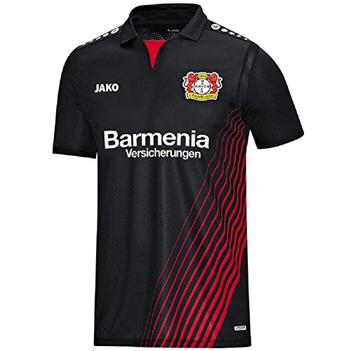 JAKO Bayer 04 Leverkusen Trikot Home 17/18 (black/red, S)