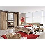 Schlafzimmer komplett 4-teilig, Eiche Sanremoe