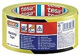 TESA 60760-00087-15 - Cinta Señalización temporal serie 60760-33m x 50mm Negra/Amarilla