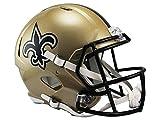 NFL Full Size Helm/Helmet Football Speed Replica NEW ORLEANS SAINTS
