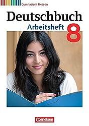 Deutschbuch Gymnasium - Hessen G8/G9: 8. Schuljahr - Arbeitsheft mit Lösungen