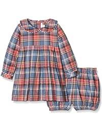 Rachel Riley Tartan Flannel Dress & Bloomers - Vestido para bebés