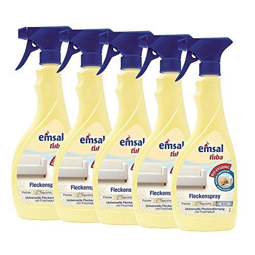 Preisvergleich Produktbild 5x emsal tuba Fleckenspray 500 ml - für Polster, Teppiche und Auto geeignet