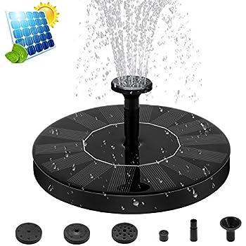 Pompa acqua a energia solare fontana laghetto ugelli for Fontana per laghetto