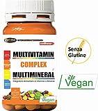 Vitamine Minerali Integratore Multivitaminico e Multiminerale 60 Compresse   Con Vitamina A C D B E Zinco Selenio Complesso di Vitamine Sistema Immunitario   Stanchezza Fatica Metabolismo Capelli