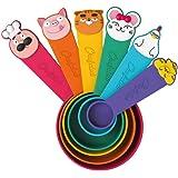 Chefclub - Ustensile de Cuisine pour Enfant - Tasses Doseuses Ludiques pour Mesurer Facilement - La Cuisine devient un Jeu