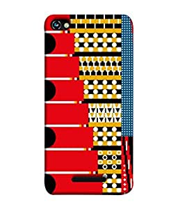 PrintVisa Designer Back Case Cover for Micromax CanvasHue2A316 (Texture Illustration Background Backcase Pouch Graphics)