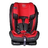 Kinderkraft Gravity Kinderautositz Autokindersitz Kindersitz 9 bis 36 kg Gruppe 1 2 3 Rot