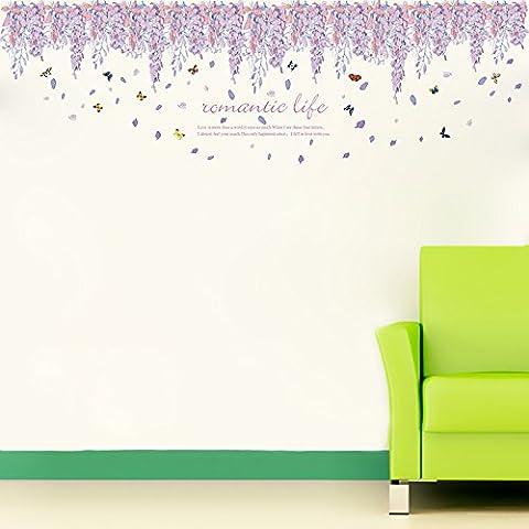 T-Mida Home Baseboard stereo den soggiorno cucina paesaggio decorazione adesivi