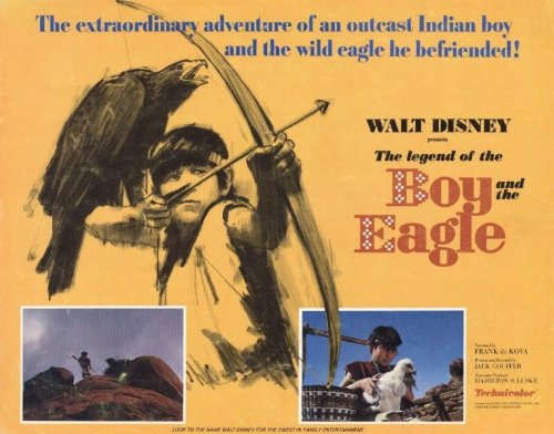 legend-of-the-boy-and-the-eagle-poster-11-x-14-inches-28cm-x-36cm-1967-style-a