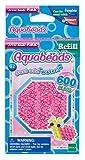 Aquabeads 32728 Glitzerperlen Bastelperlen nachfüllen pink