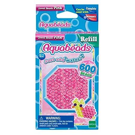 Aquabeads – 32728 – Pinke Glitzerperlen