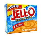 Jell-O Butterscotch sugar free Pudding and Pie Filling Desserts 28 g (Pack of 24)